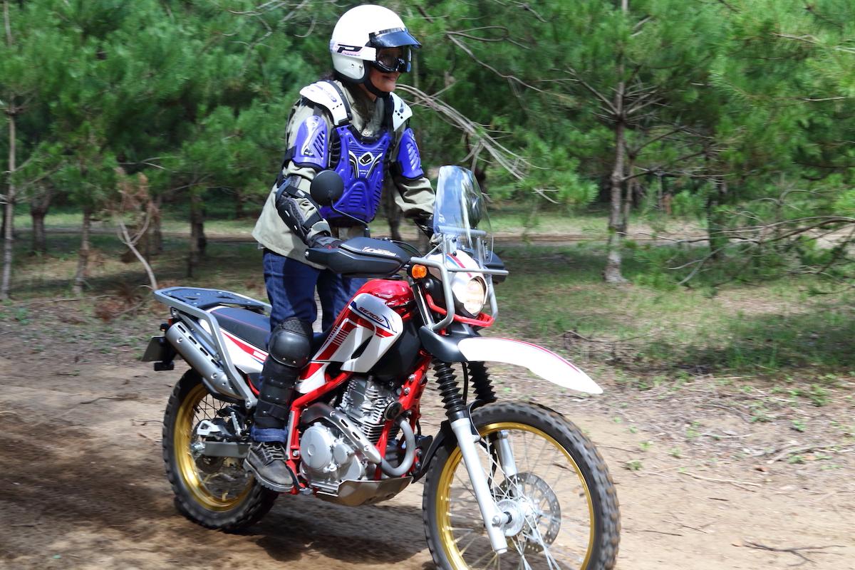 気軽にオフロードバイクを体験できる『はじめてのオフロード』